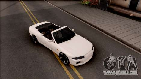 Nissan Skyline R33 Cabrio for GTA San Andreas right view