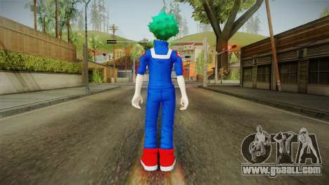 My Hero Academia - Izuku Midoriya for GTA San Andreas third screenshot