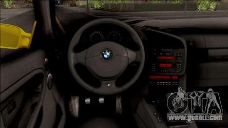 BMW M3 E36 BKworks for GTA San Andreas inner view