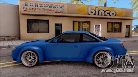 Nissan 200SX Rocket Bunny v2 for GTA San Andreas left view