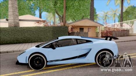 Lamborghini Gallardo Superleggera LP 570-4 for GTA San Andreas left view