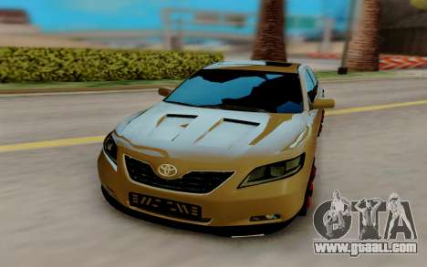 Toyota Camry V40 Sport for GTA San Andreas back view