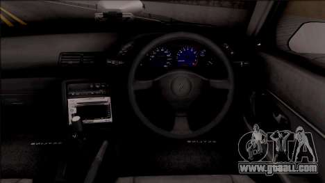 Nissan Skyline R32 Pickup Police LSPD for GTA San Andreas inner view