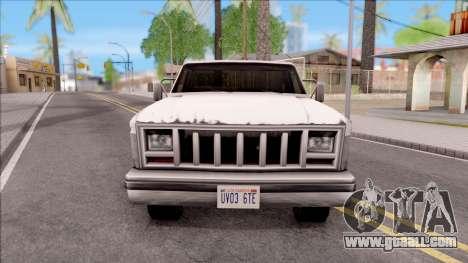 M400 for GTA San Andreas inner view