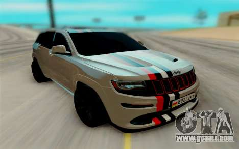 Jeep Grand Cherokee SRT for GTA San Andreas