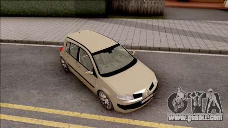 Renault Megane 2 HB Authentigue for GTA San Andreas right view