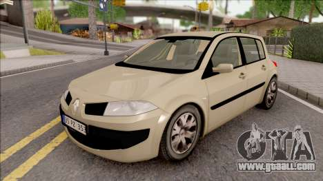 Renault Megane 2 HB Authentigue for GTA San Andreas