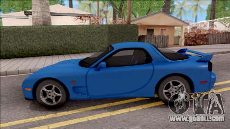 Mazda RX-7 1997 for GTA San Andreas left view