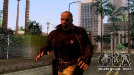 Marvel Heroes - Nick Fury Ultimate for GTA San Andreas