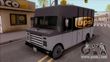 UPS Van for GTA San Andreas