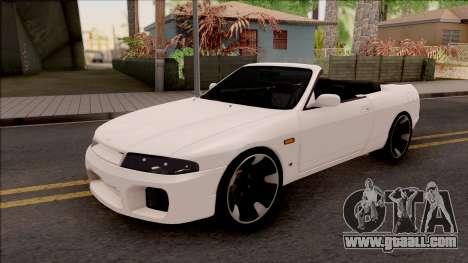 Nissan Skyline R33 Cabrio for GTA San Andreas
