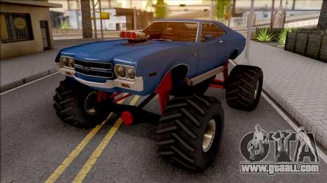 Chevrolet Chevelle SS 1972 Monster Truck for GTA San Andreas