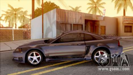 Ford Mustang Saleen 2000 IVF for GTA San Andreas left view