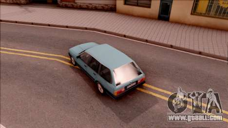 BMW 325i E30 Touring for GTA San Andreas back view