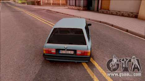 BMW 325i E30 Touring for GTA San Andreas back left view