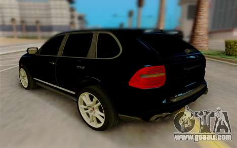 Porsche Cayenne S 2009 for GTA San Andreas back left view