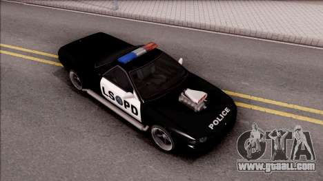 Nissan Skyline R32 Pickup Police LSPD for GTA San Andreas right view