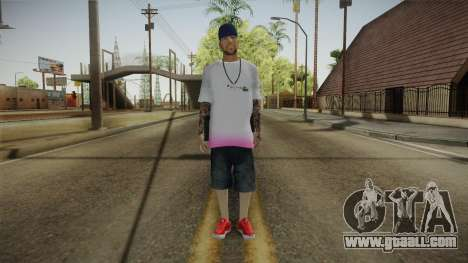 New Thug Skin for GTA San Andreas second screenshot