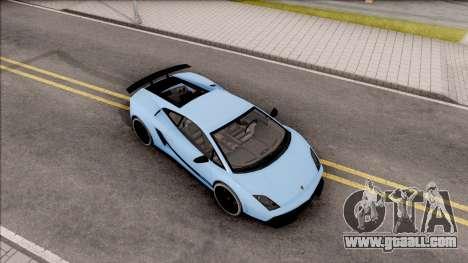 Lamborghini Gallardo Superleggera LP 570-4 for GTA San Andreas right view