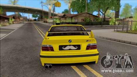 BMW M3 E36 BKworks for GTA San Andreas back left view