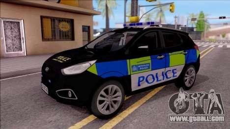 Hyundai IX35 2012 U.K Police for GTA San Andreas