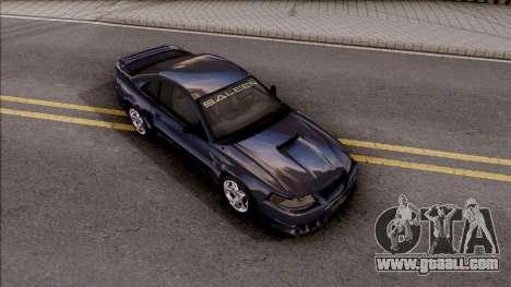 Ford Mustang Saleen 2000 IVF for GTA San Andreas