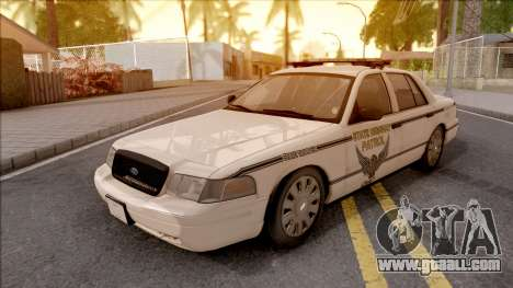 Ford Crown Victoria 2010 OS Highway Patrol for GTA San Andreas