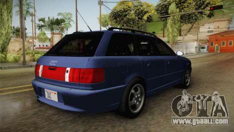 Audi RS2 Avant 1995 for GTA San Andreas right view