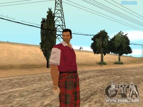Tommy Vercetti Golf for GTA San Andreas