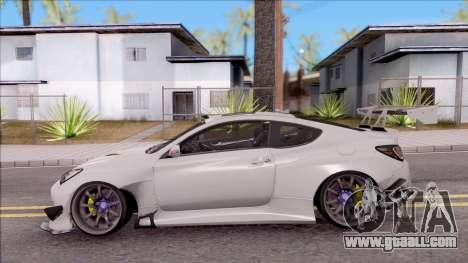 Hyundai Genesis Coupe 3.8 2013 Rocket Bunny for GTA San Andreas left view