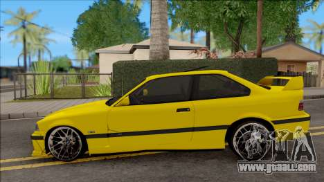 BMW M3 E36 BKworks for GTA San Andreas left view