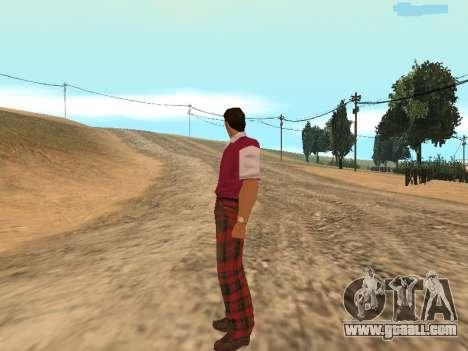 Tommy Vercetti Golf for GTA San Andreas fifth screenshot