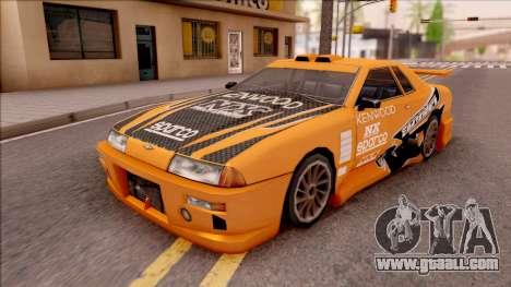 Eddie NFS Underground Paintjob For Elegy for GTA San Andreas