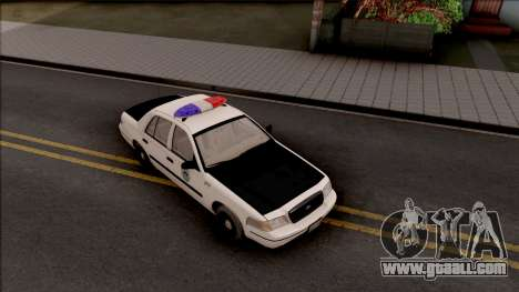 Ford Crown Victoria 2004 Des Moines PD for GTA San Andreas right view