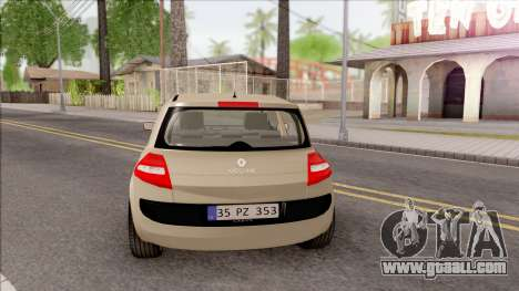 Renault Megane 2 HB Authentigue for GTA San Andreas back left view