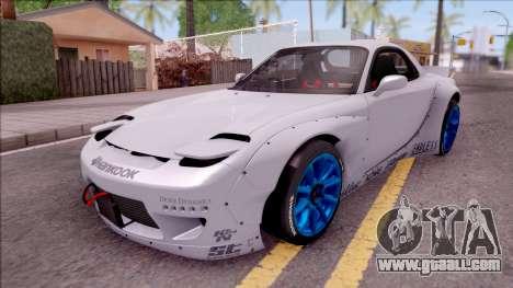Mazda RX-7 Rocket Bunny for GTA San Andreas