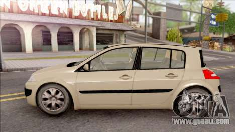 Renault Megane 2 HB Authentigue for GTA San Andreas left view
