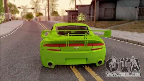 Aston Martin V8 Vantage Tuning Sin Sonido for GTA San Andreas