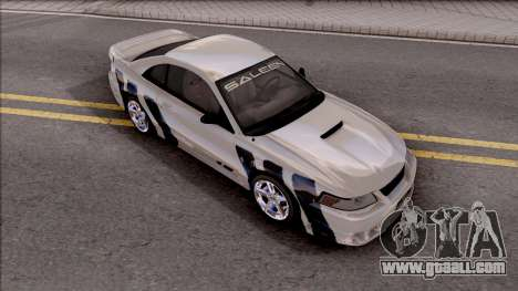 Ford Mustang Saleen 2000 IVF for GTA San Andreas upper view