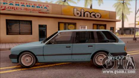 BMW 325i E30 Touring for GTA San Andreas left view