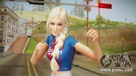The Sims 4 - Girl FCB for GTA San Andreas