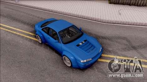 Nissan 200SX Rocket Bunny v2 for GTA San Andreas right view