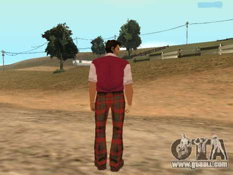 Tommy Vercetti Golf for GTA San Andreas forth screenshot