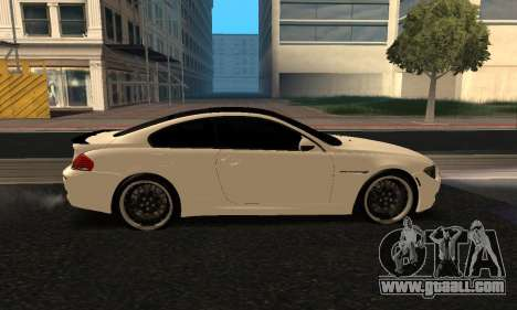 BMW M6 E63 Armenian for GTA San Andreas