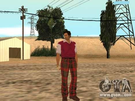 Tommy Vercetti Golf for GTA San Andreas third screenshot