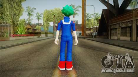 My Hero Academia - Izuku Midoriya v2 for GTA San Andreas third screenshot