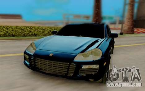Porsche Cayenne S 2009 for GTA San Andreas back view