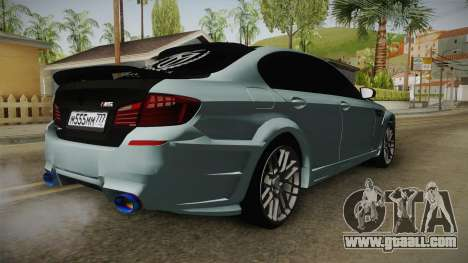 BMW M5 F10 Hamann for GTA San Andreas right view