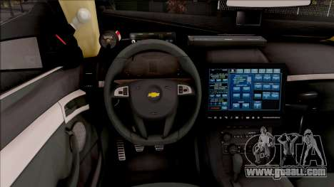 Chevrolet Caprice 2013 Los Santos PD v2 for GTA San Andreas inner view