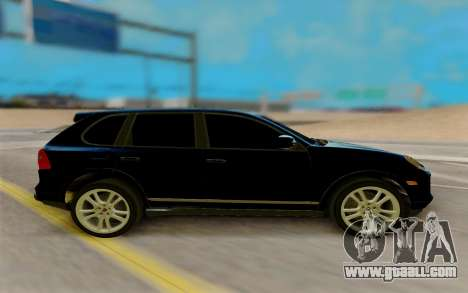 Porsche Cayenne S 2009 for GTA San Andreas left view